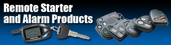 Remote Starter and Alarm Products and Accessories